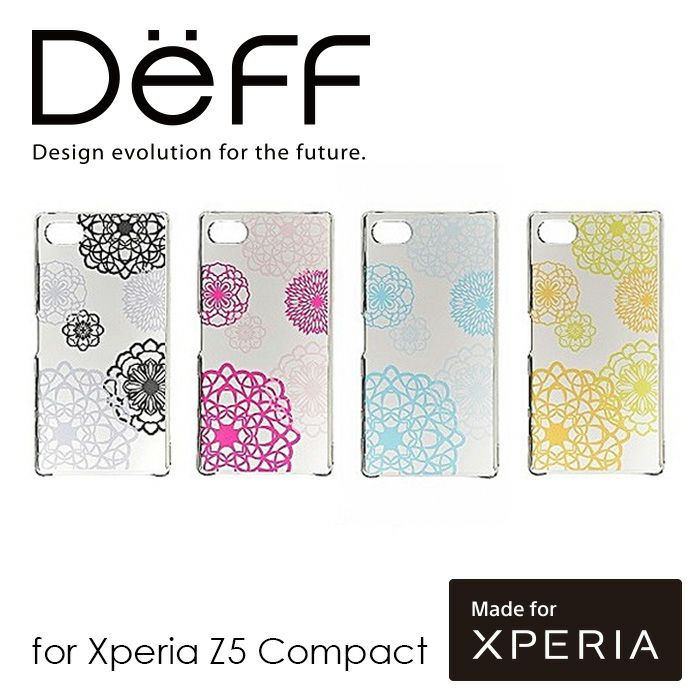 XperiaZ5Compact用デザインケース